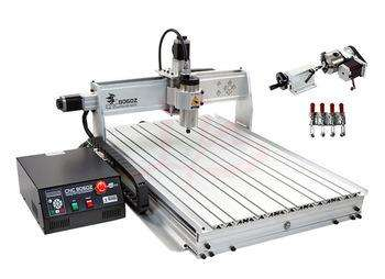 Cnc Router Maquina Fresadora 40cmx40cm Laser Madera Metal 3D