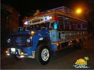 Alquiler de Chivas rumberas por 4 horas 50 y 60 personas