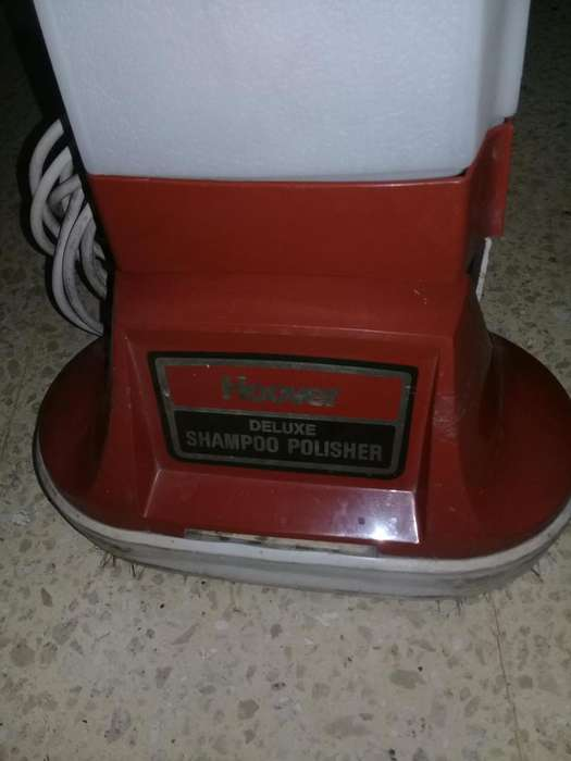 SHAMPOO POLISHER LIMPIA <strong>alfombra</strong>S HOOVER