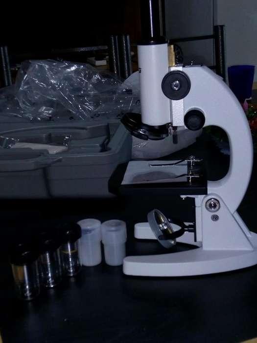 3 Microscopios Marca Zuzi Nuevos sin Uso