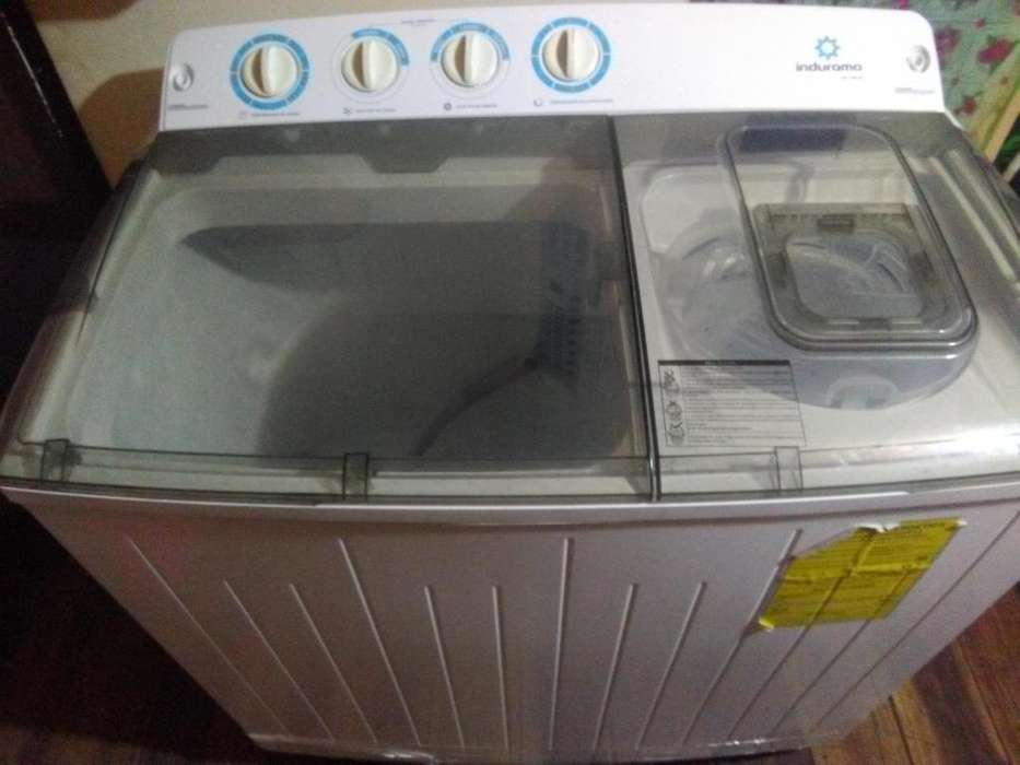 <strong>lavadora</strong> indurama semi automatica de 13 kg en excelente estado muy poco uso