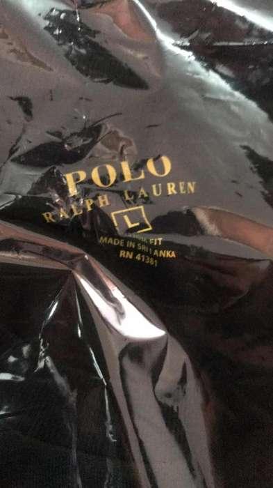 Camiseta Marca Polo Negra
