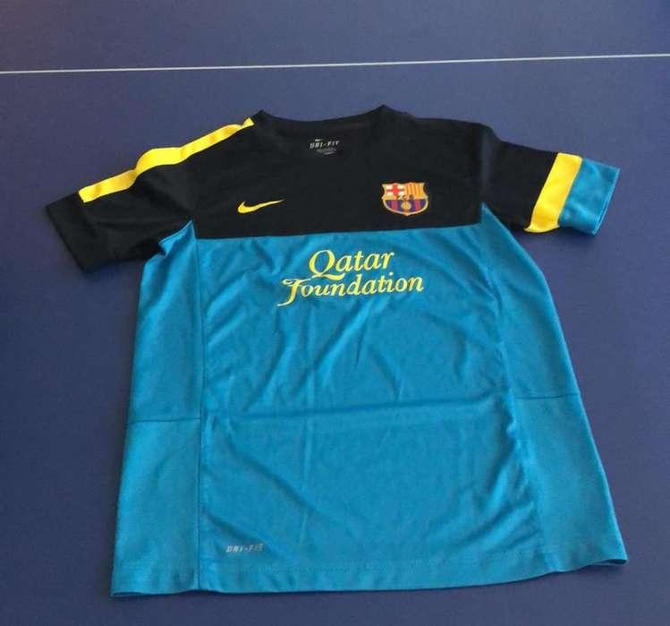 Remera Barca Nike Niño Talla M