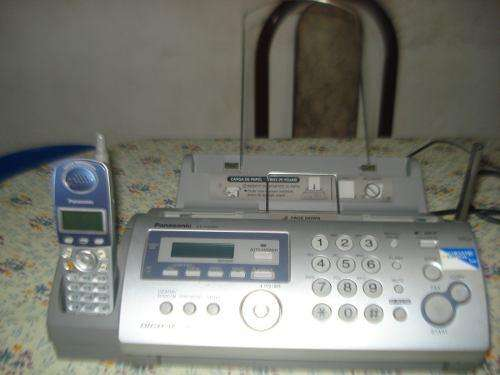 <strong>fax</strong> Con Telefono Inhalambrico Panasonic Kxfg2853ag Impecabl