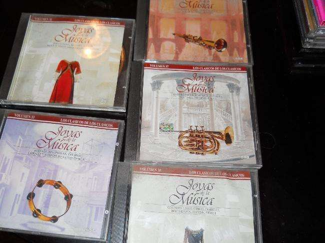cinco cds joyas de la música clásica