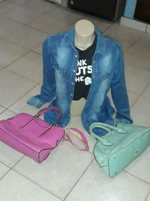 Camisa Jean Mas 2 <strong>cartera</strong>