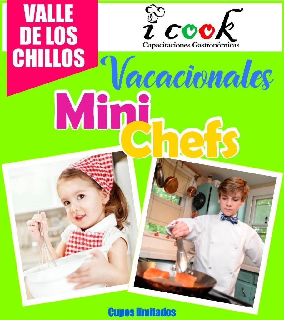 Vacacionales Cocina Y Pastelería Niños Y