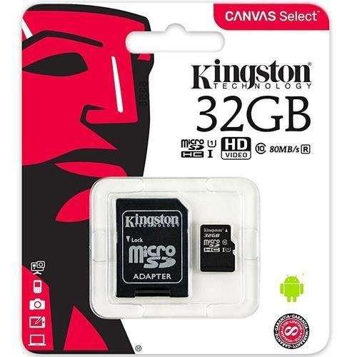 Memoria Kingston Micro Sd 32gb Clase 10