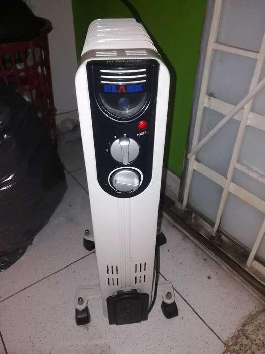 Calefactor Funcionando