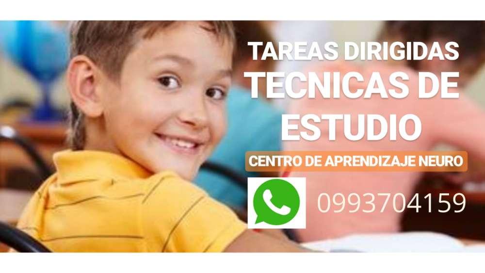 ..* TAREAS DIRIGIDAS Y TÉCNICAS DE ESTUDIO..*