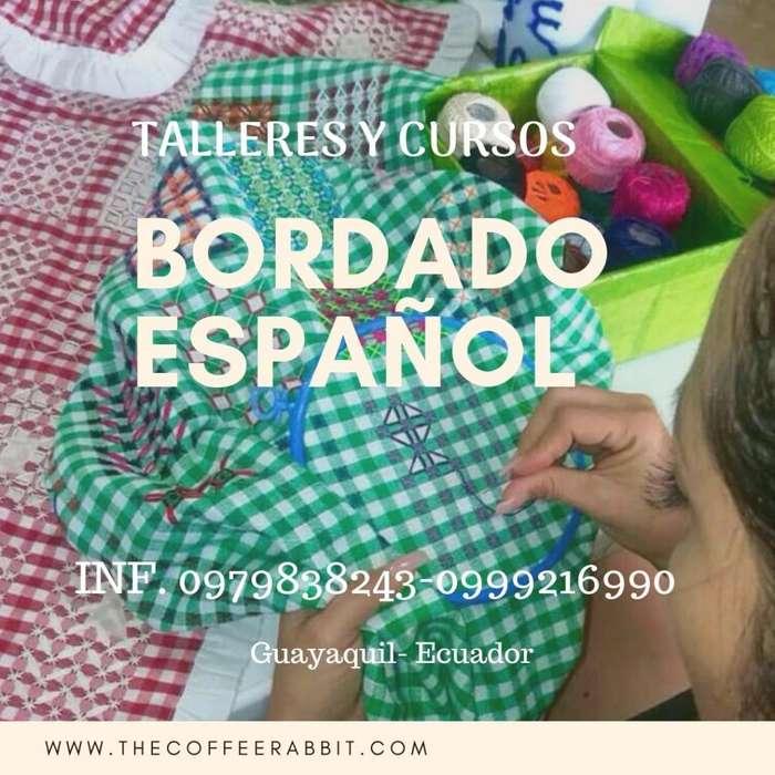 Cursos de Bordado Español