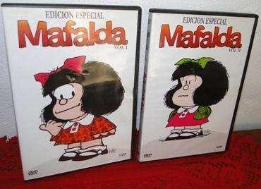 MAFALDA EDICIÓN ESPECIAL DVDs Volúmen I y II