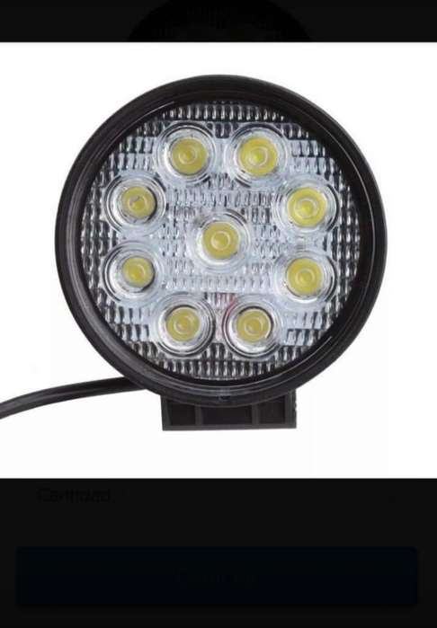 Barras Led de 18 Y Faros de 27 Watts