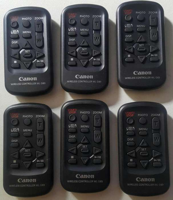 Canon Wireless Controller WLD89 para Videocamara