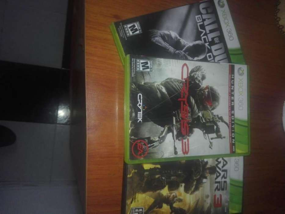 black ops 2 crysis 3 gears 3 xbox 360