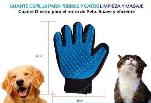 Guante removedor de pelo mascota PERRO GATO