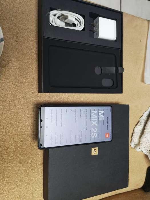 Xiaomi Mi mix 2s Flamante 64gb 6gb de ram snapdragon 845 doble camara de 12mpx trasera y 5mpx frontal homologado
