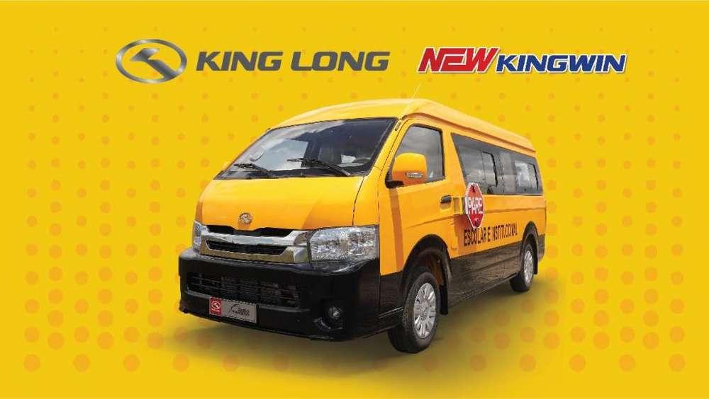 FURGONETA NEW KINGWIN KING LONG 2020