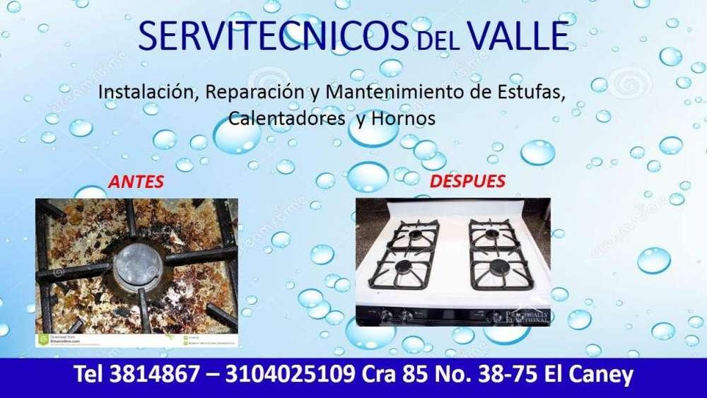 reparación de estufas 3104025109