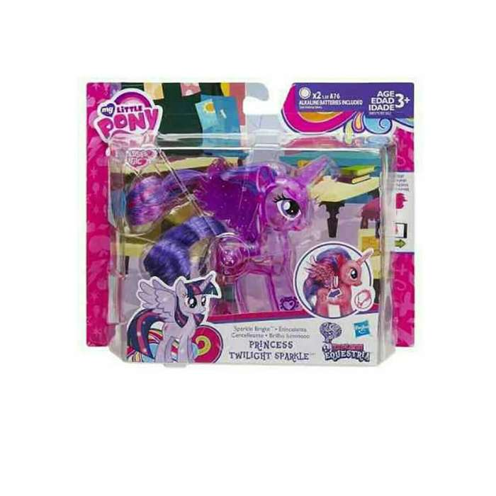 Mi Pequeño Pony de HASBRO Explore Equestria Sparkle Bright Princess Twilight Sparkle