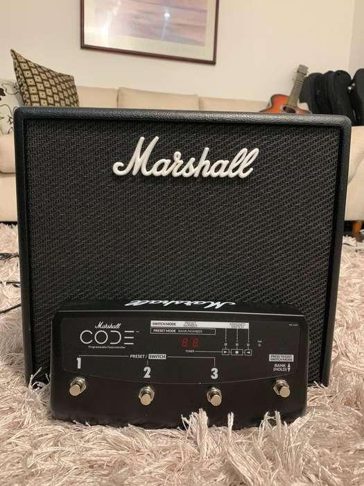 Marshall Code 25 Marshall Code Footswitch