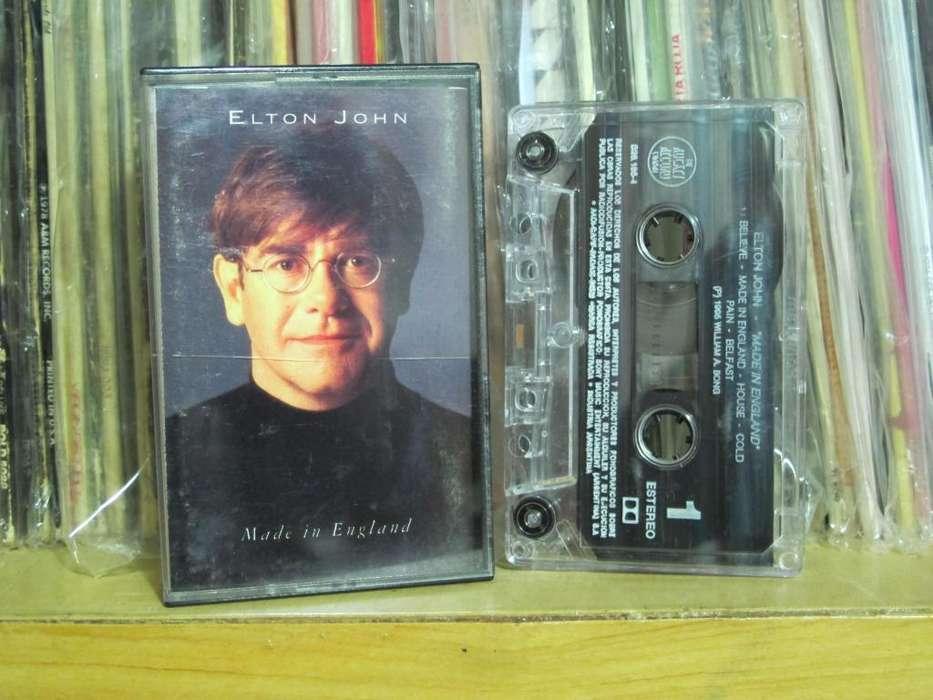 Elton John - Made In England - Cassette ARG