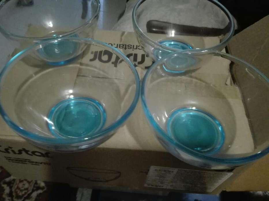 Tazas de Vidrio Bowl
