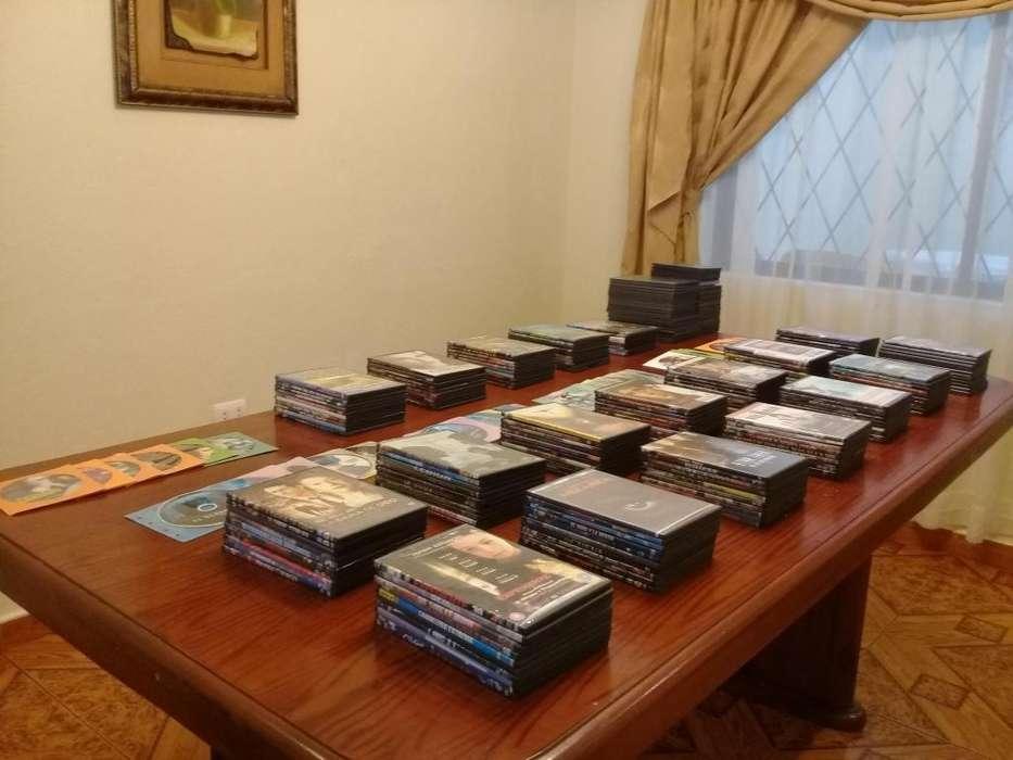 220 discos de excelentes películas en DVD