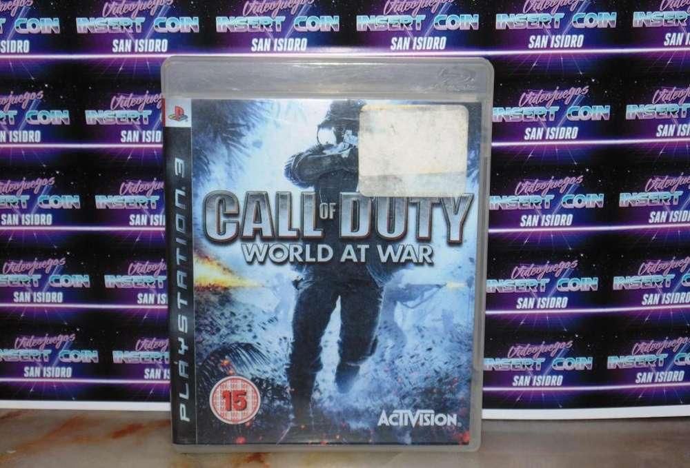 Call of Duty world at war PS3 Juego Play Station 3