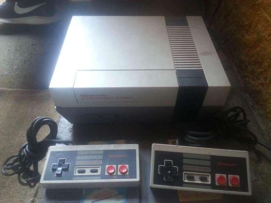 Nintendo Nes Conpleto con Mario Patos