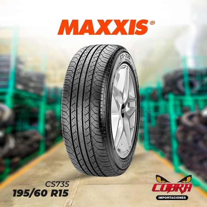 <strong>llantas</strong> 195/60 R15 MAXXIS CS735 CON GARANTÍA