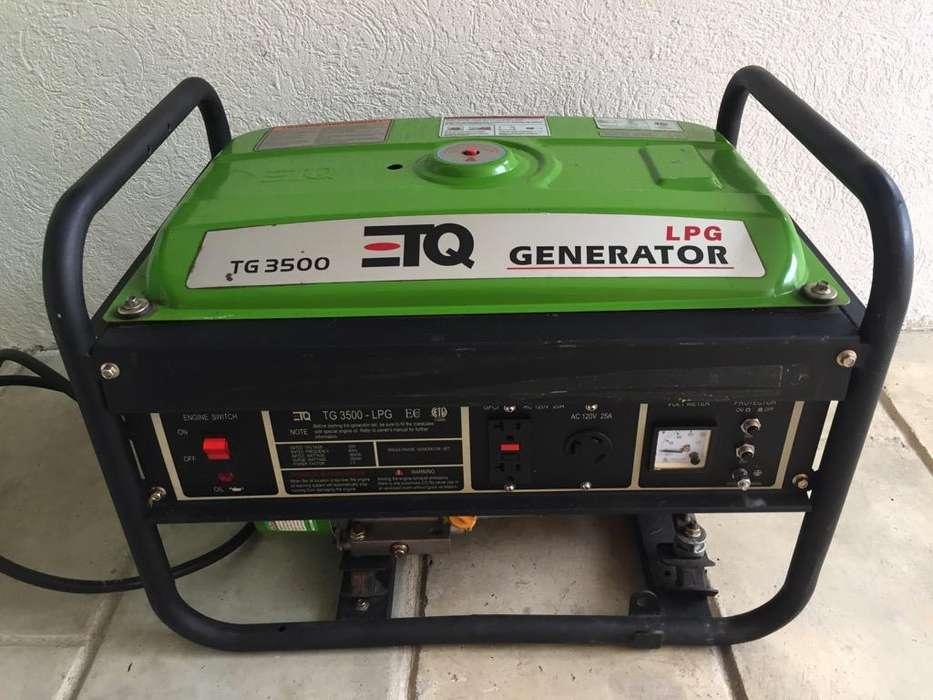 Planta Electrica 3500 a Gas Propano