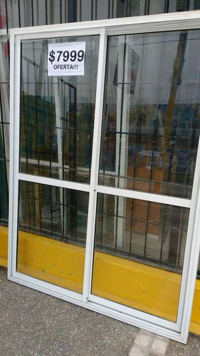 Puerta Balcon 150x200 Aluar Líquido