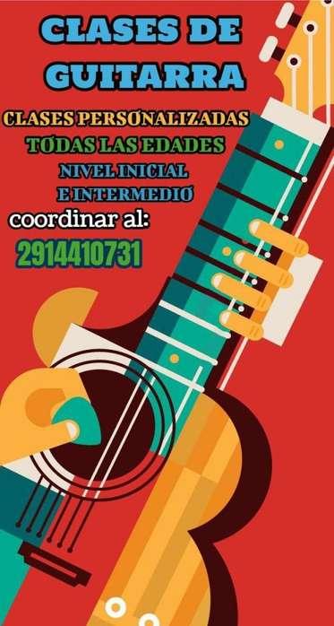 Clases de Guitarra Bahia Blanca