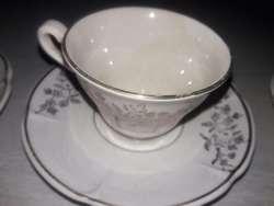 Antiguo Juego Cafe Sajoniasemi Porcelana