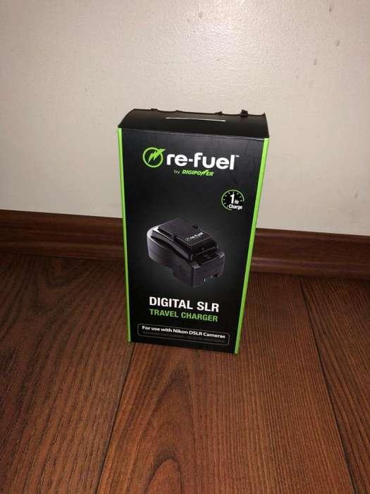 <strong>cargador</strong> de bateria Nikon Refuel Digital SLR