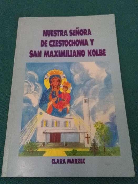 NUESTRA SEÑORA DE CZESTOCHOWA Y SAN MAXIMILIANO KOLBE . CLARA MARZEC . LIBRO PARROQUIA DE EZPELETA 1993