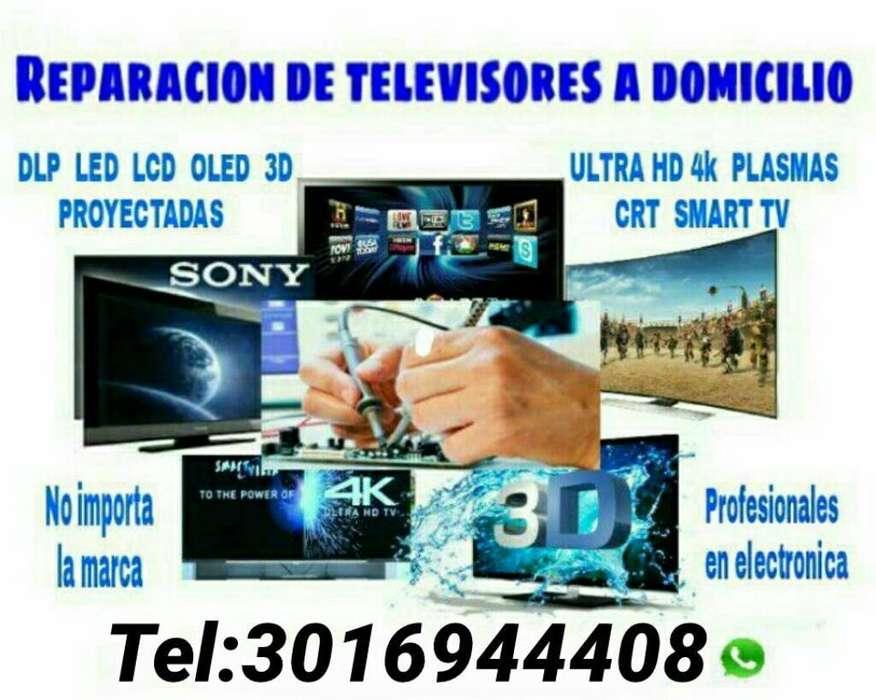 Servicio Tecnico de Televisor Domicilio