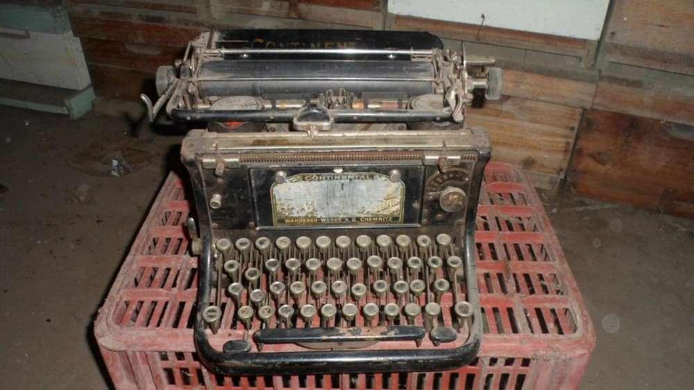 Maquina de Escribir Continental y otras.