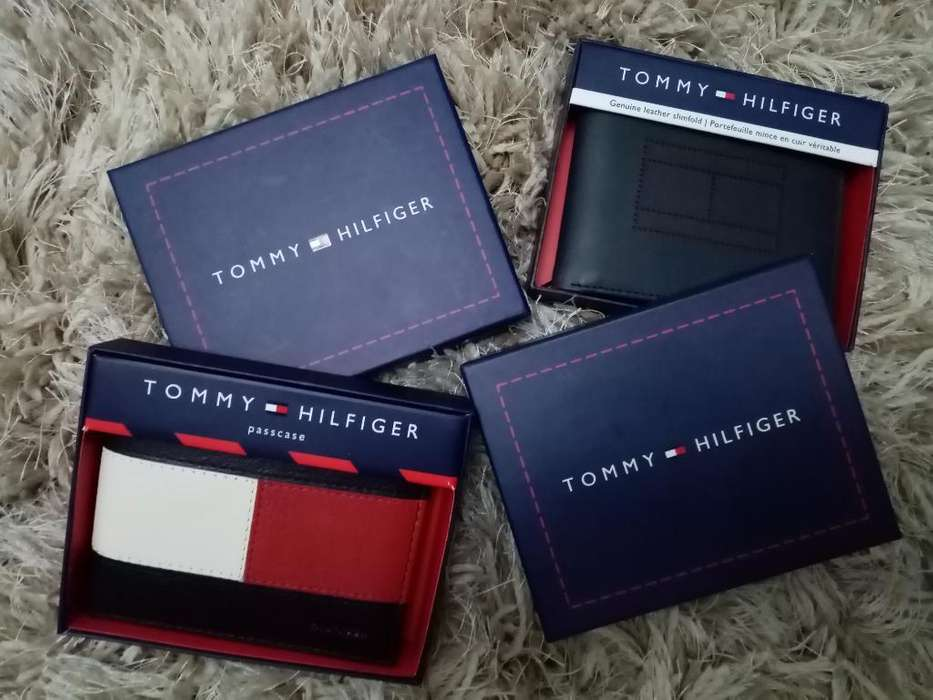 Billeteras Tommy Hilfiger