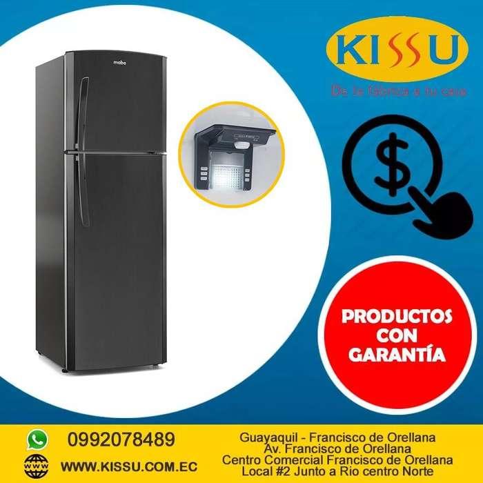 Refrigeradora Mabe 230 Litros No Frost Negra Luz Led