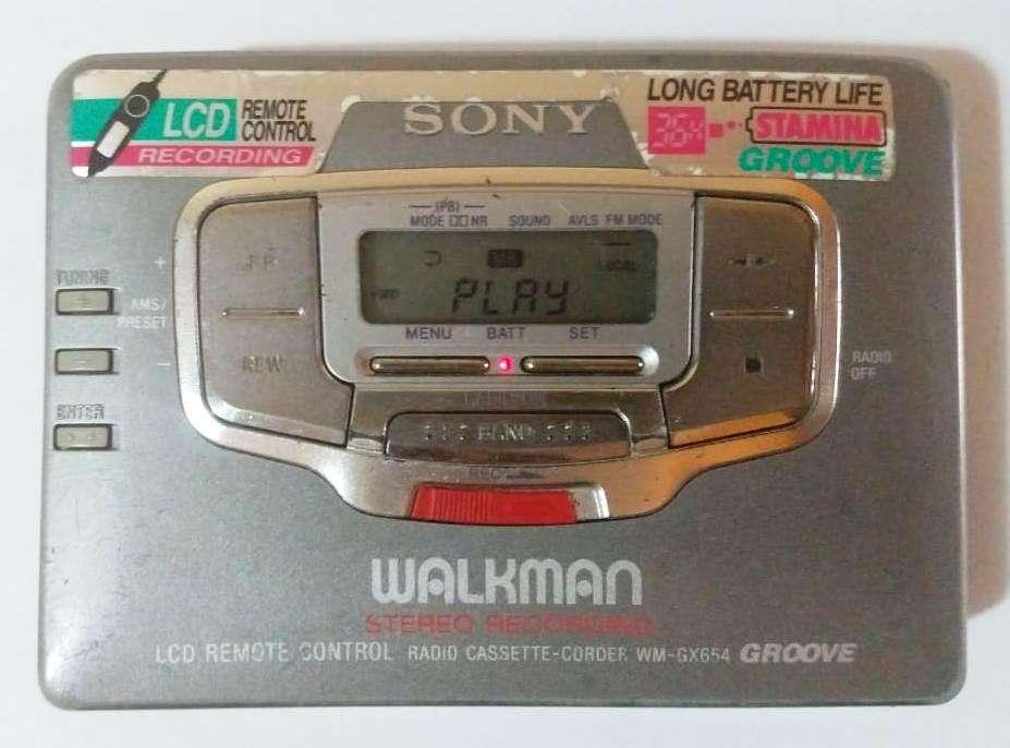 Walkman Sony Wm-gx654 Japones, Reproductor De Cassette