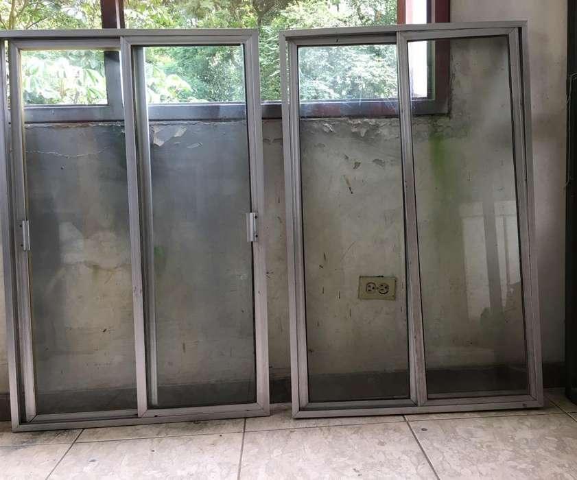 Ventanas Corredizas en Aluminioconvidrio