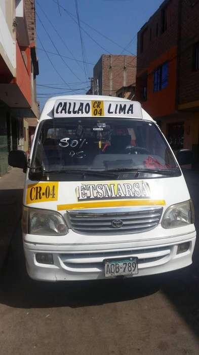 COMBI 16 ASCIENTOS AÑO 2011