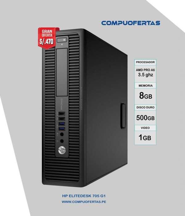 HP ELITEDESK 705 G1 AMD A6 PRO 3.5GHZ