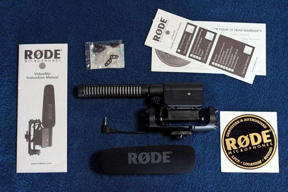 Microfono Rode Videomic DSLR