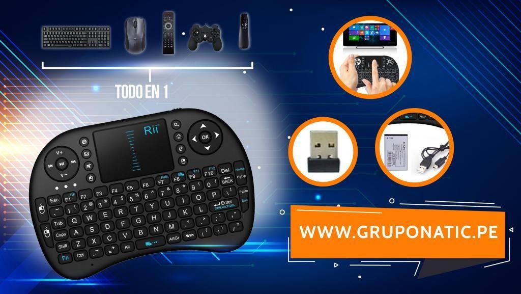 Teclado Inalambrico Mando Para Smart Tv Box Proyector Gruponatic San Miguel Surquillo Independencia La Molina 941439370