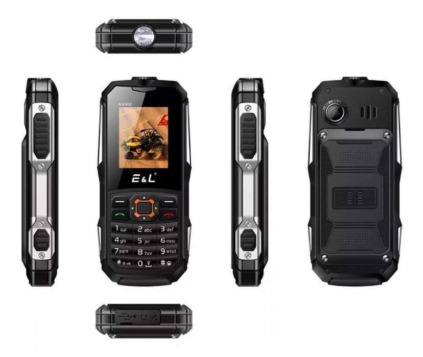 E&l K6900 1,8 2 Teléfono Ip68 A Prueba De Agua Con 32 Mb