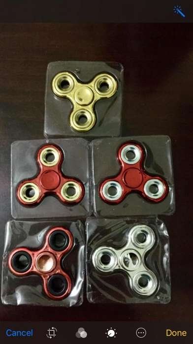 !!!Spinners METALICOS!