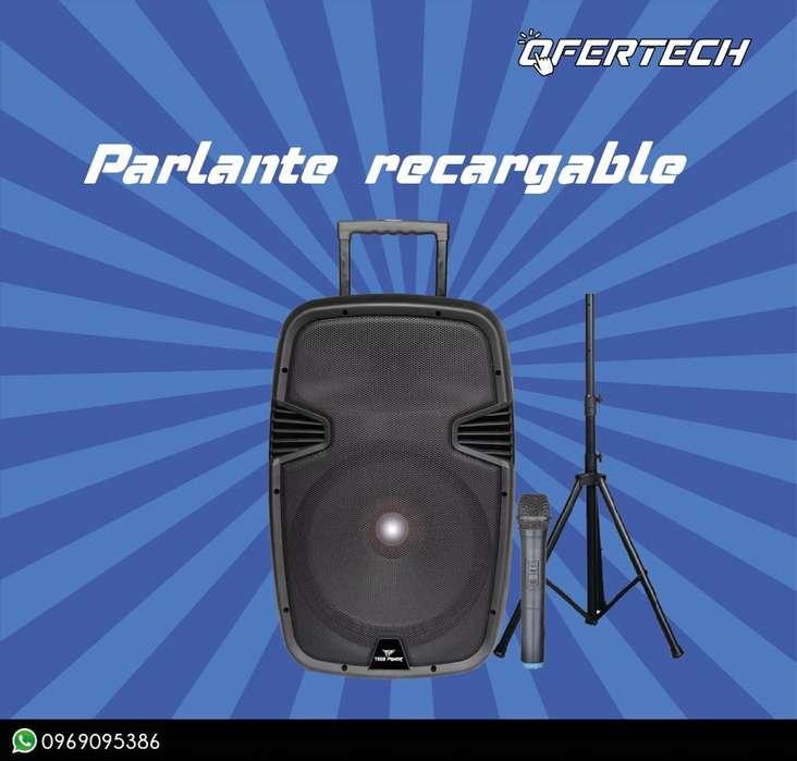 Parlante Tech Power recargable